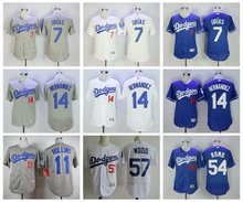 MLB Men's Los Angeles Dodgers jerseys 3(China)