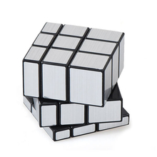 Mirror Blocks Cube Magic Puzzle Toys Educational Learning Resources Brinquedo Menino Square Speed Cubos Children Games 50D0471(China)