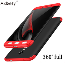 original For Xiaomi Redmi Note 4x Case 360 Full Protect Cover Ultra Thin Hard Hybrid Plastic For Redmi Note 4 X Case For Redmi 4