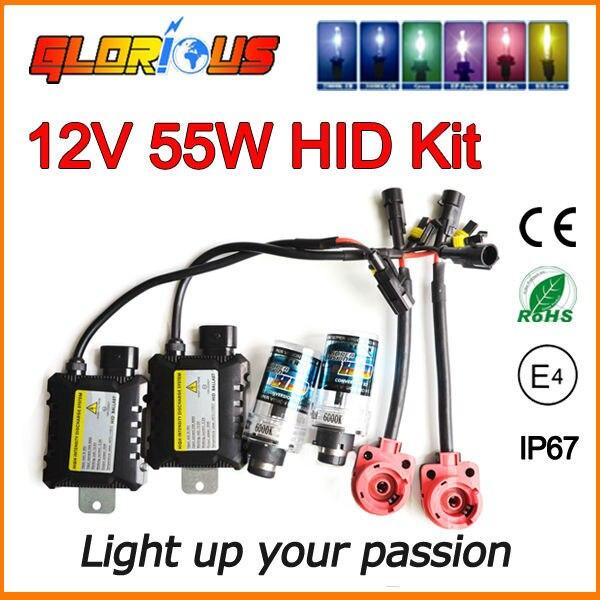 Xenon D2R 55W headlight bulbs HID conversion kit D2R  6000K 4300K 5000K 8000k <br><br>Aliexpress