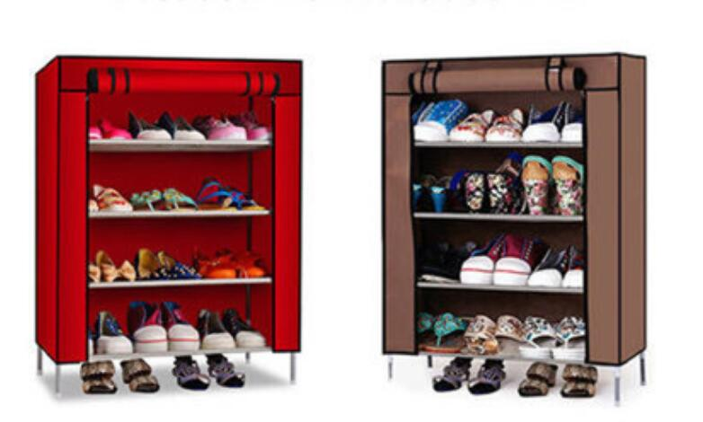 85*60*30CM Four layers Nonwovens Shoe Cabinets Oxford cloth Shoe rack<br><br>Aliexpress