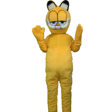 Plush Garfield cartoon character mascot costume Halloween outfits Custom products()