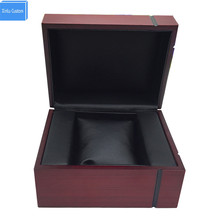 New design fashion women&men for packaging red wooden watch box yogon, may Custom logo factory supply