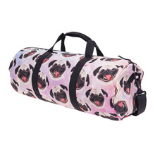 Fashion Training Gym Bag Women Yoga Bag 3D Printing Pet Dogs Pattern Durable Multifunction Outdoor Portable Shoulder Travelbag