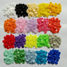 Wholesale 1000 set plastic snap button Fasteners quilt cover sheet button sizes 12mm garment accessories (can choose the colors)(China)
