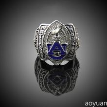 aoyuan Championship rings,2010 Auburn Tigers Football National Championship Starting Player's Ring, sports fans rings, men ring.