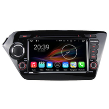 "8"" Octa Core 2G RAM 32G Flash Android Car Multimedia GPS Navigation DVD Radio for Kia K2 Rio 2010 2011 2012 2013 2014"