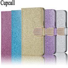 Buy Bling Rhinestone PU Leather Case Sony Xperia C S39H C2305 Cover Original Flip Stand Wallet Phone Coque Card Slot for $2.94 in AliExpress store