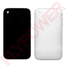 100% New Battery Door Back Cover Full Housing Case For Iphone 3G 3GS In Black and White By Free Shipping(China)