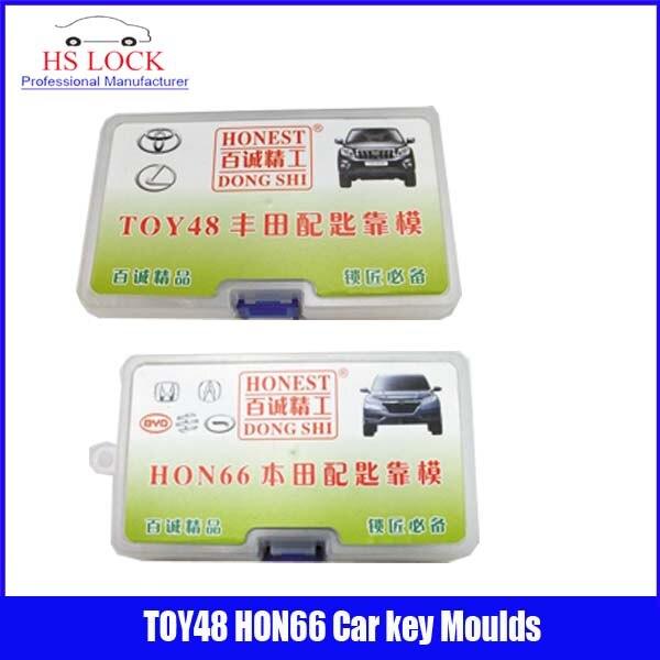 TOY48&amp; Hon66 car key moulds for key moulding Car Key Profile Modeling locksmith tools<br>