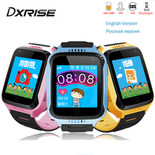 Q528 Kids GPS Smart Watch Y21 Touch Screen smart baby watch with Camera Lighting Location SOS Call remote Monitor pk Q750 Q90