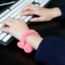 [HFSECURITY] [HF Mouse Pads] Elastic Band Mini Wrist Pad Wonderful Gift Soft Computer Mice Mouse Pads Wrist