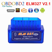 2017 Super Mini ELM327 Bluetooth V2.1 OBD2 Car Diagnostic Tool Mini ELM 327 Bluetooth For Android/Symbian For OBDII Protocols(China)