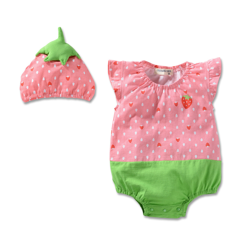 Baby Rompers Summer Cute Baby Girl Clothes Cotton Newborn Baby Clothes Roupas Bebe Infant Jumpsuit Baby Boy Clothing Kid Clothes