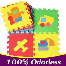 10PCS Cartoon EVA Puzzle Mats Foam Jigsaw Puzzle Mats Floor Play Mat Baby Educational Floor Mat 4 Style 100% Odorless PX10