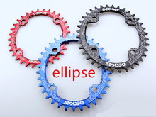 DECKAS ciclismo oval chain ring Mountain Bicycle Crank Chainwheel Aluminum Bcd104 Chainring Hollow Repair Suitable 9 S 10 S 11S(China)