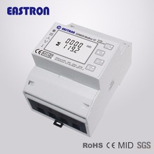 SDM630Modbus V2, multi-function power analyser, 1p2w 3p3w 3p4w, modbus/pulse output port RS485, PV solar system available, MID