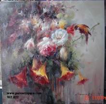 Free shipping! Handpainted flower / floral impression ART Oil Paintings on canvas good quality
