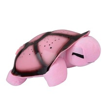 Musical Twilight Turtle Plush Nightlight Sky Star Novelty Lamp Children Toy Song Music Lighting Baby Sleep Light(China)