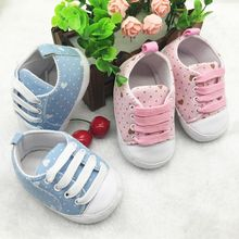 Leisure Anti-slip Toddler Shoes Baby Sneakers Retail Newest Original Brand Baby First Walkers1(China)