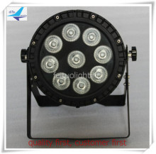 Y-8pcs 9*15W mini led par can RGBWA 5in1 washer wall disco wedding par led outdoor(China)