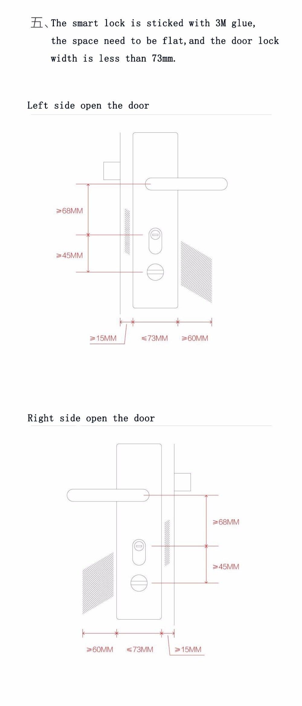Xiaomi Sherlock Smart Home Door Lock M1 mijia Keyless Fingerprint+Password Securite Porte work to Mi home app phone control