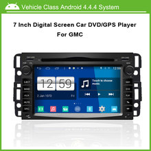 Android Car DVD/GPS player FOR GMC GPS Navigation Multi-touch Capacitive screen,1024*600 high resolution.