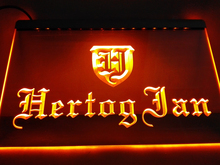 LE234y- Hertog Jan Bar Holland Beer Plastic Crafts LED Neon Light Sign(China)