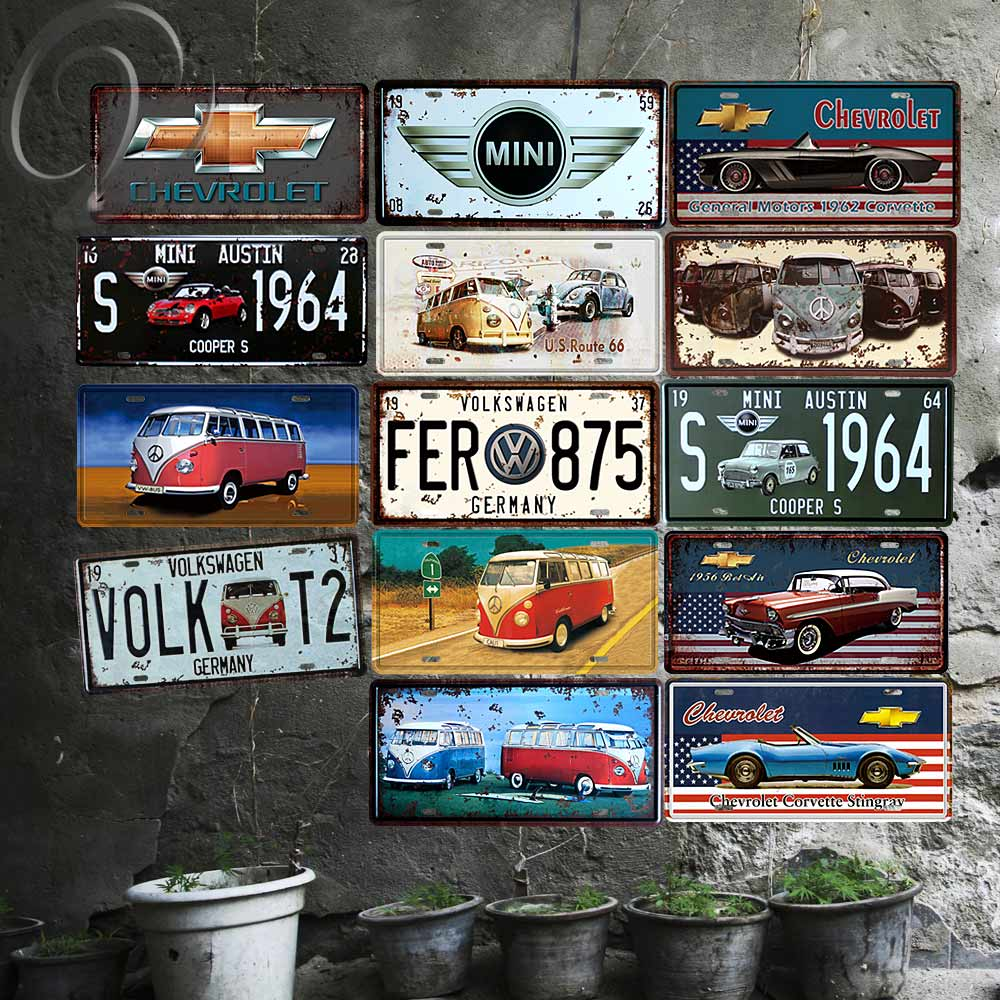 Coffee Time Vintage Home Decor 20*30 CM Shabby ChicTin Signs For ...