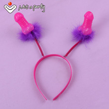 Sex products Willy penis headband 30% off for 2pcs hens night Bachelorette hen Party hair accessories adult sexy game birthday
