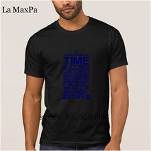 La Maxpa Costume Latest menu0027s t shirt doctor who typography t-shirt men 2018 Pattern & Costume Men Doctor Promotion-Shop for Promotional Costume Men Doctor ...