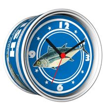 2014 New DIY Tuna Fish Can Design Magnetic Cheap Wall Clocks,Cheap Desk Clocks,Cheap Table Function Clocks in Free Shipping(China)