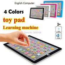 Ypad English word Learning Machine Tablet Toys Pad with Game Kids Learning toy Laptop Pad Learning Educational Toys For Children(China)
