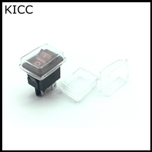 15*21MM KCD1 series Rocker Switch Waterproof cap Dust cap 10Pcs(China)