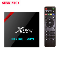 Buy 5 Pcs/lot X96W Android 7.1 TV Box Amlogic S905W 1GB 8GB Quad Core WIFI HDMI 4K HD Smart Set Top Box Media Player PK X96 A95X H96 for $167.94 in AliExpress store