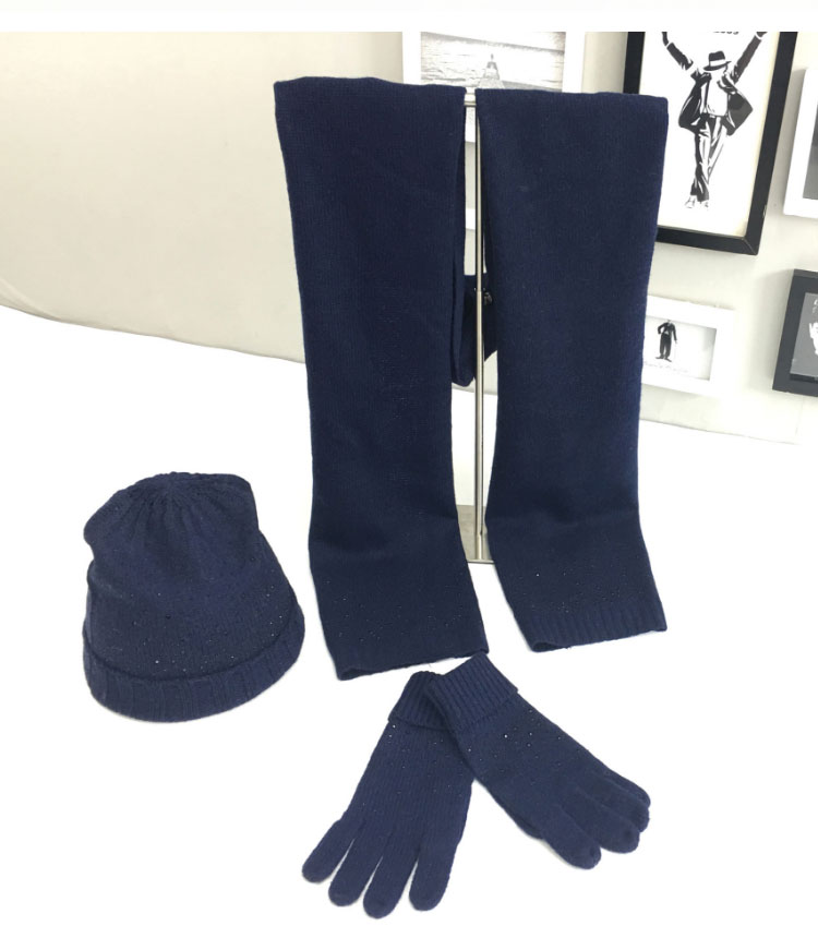 hat scarf set  Scarf, Hat & Glove Sets knitted  winter hat and scarf woman with diamond  (16)