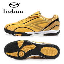 TIEBAO Professional Men Women Indoor Soccer Shoes Trainer Football Boots TF Turf Soles Sneakers Adult Sport Soccer Cleats Futbol(China)