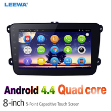 "8inch 8"" Ultra Slim Android 4.4.2 Quad Core Car Media Player With GPS Navi Radio  For VW Sharon/Amarok/Caddy/EOS #CA2868"
