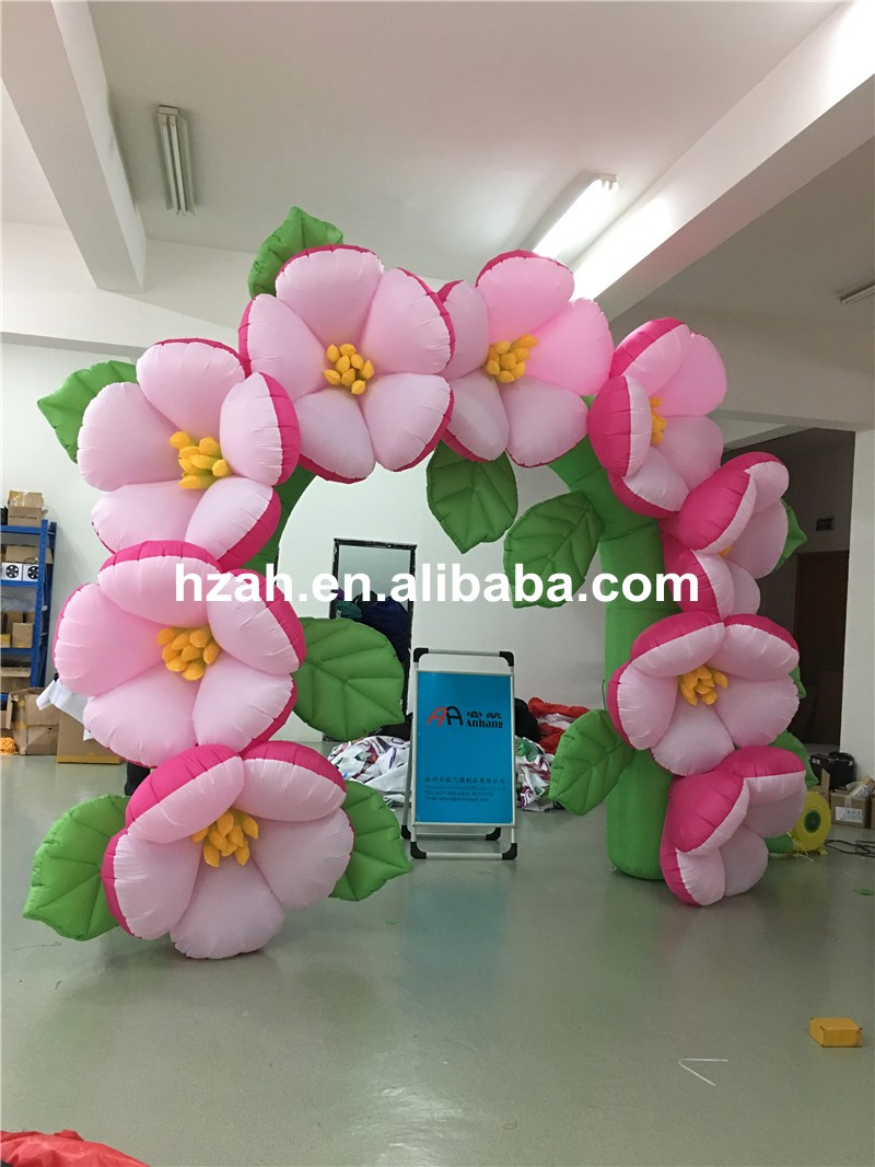 inflatable flower arch (128)