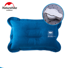 Naturehike Suede Camping Pillow  Inflatable Air Pillow Compressible Best for Outdoor Trips Backpacking Hiking Beach Travel Car