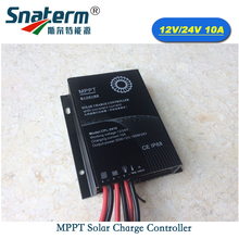 Promotion!!10A MPPT Solar Controller DC 12V 24V waterproof IP68 Solar battery Charger Charge Regulator Output constant current(China)