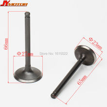 YINXIANG YX KAYO MOTORCYCLE 125cc 138cc Bike Horizontal Engine Intake Valve and Exhaust Valve Parts Free Shipping