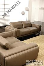 Modern living room sofa 1 2 3 French Designer genuine leather sofa , 1+2+3 Sectional sofa Set , chair Love seat sofa(China)