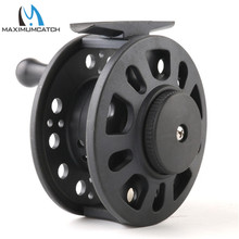 Maximumcatch GLA 1-8 Weight Fly Fishing Reel Plastic Fly Reel Right Or Left Can Be Changed Fly Reel(China)