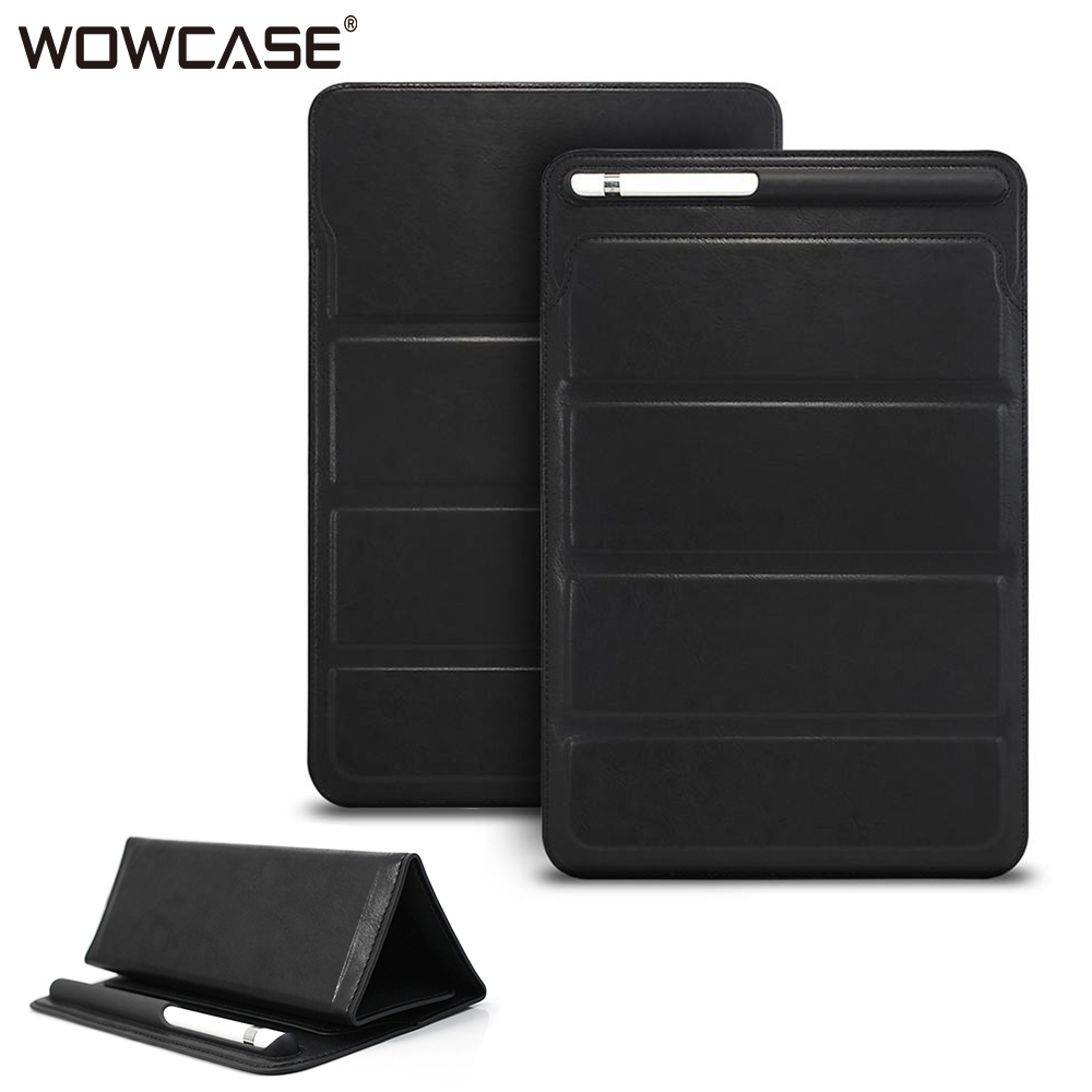 """New Luxury Leather Sleeve Case Cover Pouch Bag for Apple iPad 10.5/"""" 9.7/"""" 11 2018"""