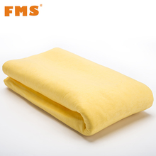 1Pc Multifunction Car Wash Towel Synthetic Suede Chamois Super Absorption Microfiber Car Care Towel PEVA Dry Hair Towel Cleaning(China)