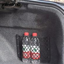 Vehemo Universal Car Fire Extinguisher Bags Storage Net Auto Luggage Box Network Pocket Car styling(China)