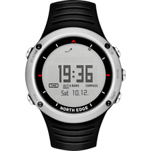 NORTH EDGE Men's sport Digital watch Hours Running Swimming sports men watches Altimeter Barometer Compass Thermometer Weather(China)