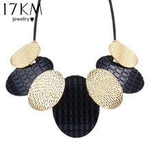 Brand Fashion Maxi Necklaces & Pendants Vintage Steampunk Bib Choker Chunky bijoux Statement Necklace collares 2016(China)