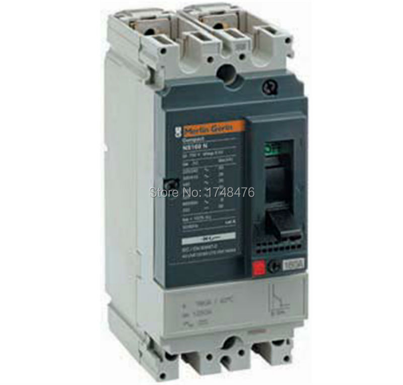 NEW 30611 circuit breaker Compact NS160H - TMD - 125A - 2 poles 2d<br><br>Aliexpress